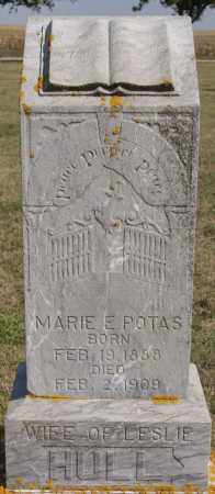 POTAS HULL, MARIE E - Lake County, South Dakota | MARIE E POTAS HULL - South Dakota Gravestone Photos