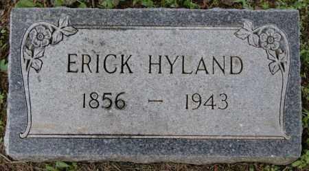 HYLAND, ERICK - Lake County, South Dakota | ERICK HYLAND - South Dakota Gravestone Photos