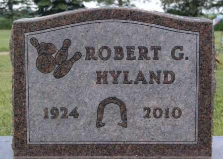 HYLAND, ROBERT G - Lake County, South Dakota   ROBERT G HYLAND - South Dakota Gravestone Photos