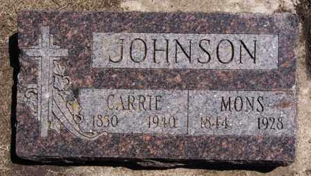 JOHNSON, CARRIE - Lake County, South Dakota | CARRIE JOHNSON - South Dakota Gravestone Photos