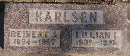 KARLSEN, LILLIAN I - Lake County, South Dakota | LILLIAN I KARLSEN - South Dakota Gravestone Photos