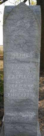 KELLOGG, NANCY J - Lake County, South Dakota | NANCY J KELLOGG - South Dakota Gravestone Photos