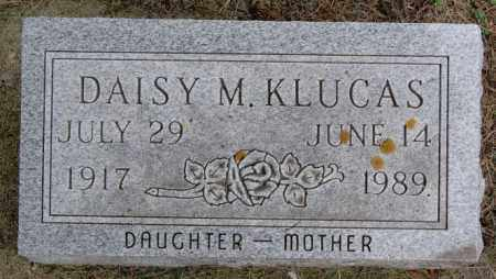 KLUCAS, DAISY M - Lake County, South Dakota | DAISY M KLUCAS - South Dakota Gravestone Photos