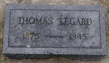 LEGARD, THOMAS - Lake County, South Dakota | THOMAS LEGARD - South Dakota Gravestone Photos
