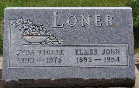 LONER, GYDA LOUISE - Lake County, South Dakota | GYDA LOUISE LONER - South Dakota Gravestone Photos