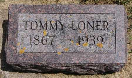 LONER, TOMMY - Lake County, South Dakota | TOMMY LONER - South Dakota Gravestone Photos