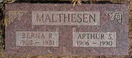 MALTHESEN, BERNA R - Lake County, South Dakota | BERNA R MALTHESEN - South Dakota Gravestone Photos