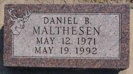 MALTHESEN, DANIEL B - Lake County, South Dakota | DANIEL B MALTHESEN - South Dakota Gravestone Photos