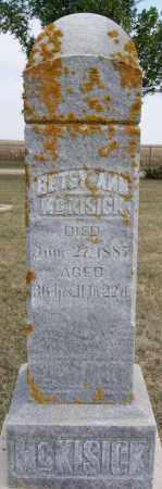 MCKISICK, BETSY ANN - Lake County, South Dakota | BETSY ANN MCKISICK - South Dakota Gravestone Photos