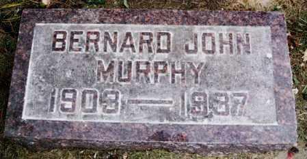 MURPHY, BERNARD JOHN - Lake County, South Dakota | BERNARD JOHN MURPHY - South Dakota Gravestone Photos