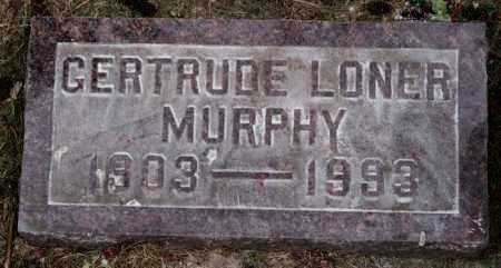MURPHY, GERTRUDE - Lake County, South Dakota | GERTRUDE MURPHY - South Dakota Gravestone Photos