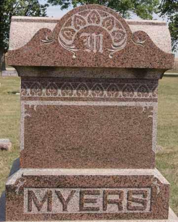 MYERS, FAMILY MARKER - Lake County, South Dakota   FAMILY MARKER MYERS - South Dakota Gravestone Photos