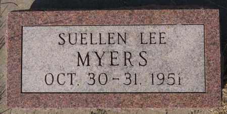 MYERS, SUELLEN LEE - Lake County, South Dakota | SUELLEN LEE MYERS - South Dakota Gravestone Photos