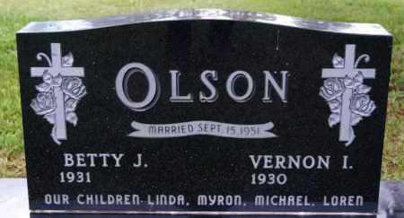 OLSON, VERNON I - Lake County, South Dakota   VERNON I OLSON - South Dakota Gravestone Photos