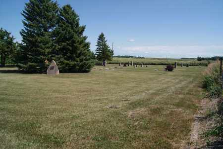 *OLSON CEMETERY, WIDE VIEW - Lake County, South Dakota | WIDE VIEW *OLSON CEMETERY - South Dakota Gravestone Photos