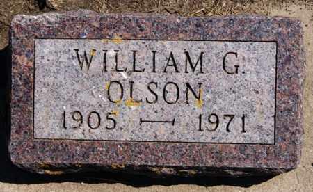 OLSON, WILLIAM G - Lake County, South Dakota | WILLIAM G OLSON - South Dakota Gravestone Photos