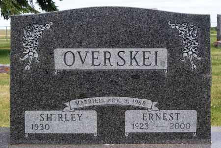 OVERSKEI, ERNEST - Lake County, South Dakota | ERNEST OVERSKEI - South Dakota Gravestone Photos