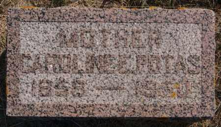 POTAS, CAROLINE E - Lake County, South Dakota | CAROLINE E POTAS - South Dakota Gravestone Photos