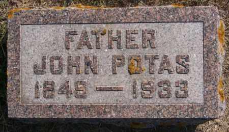 POTAS, JOHN - Lake County, South Dakota | JOHN POTAS - South Dakota Gravestone Photos