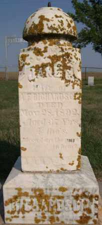 RICHARDSON, JANE CORDELIA - Lake County, South Dakota | JANE CORDELIA RICHARDSON - South Dakota Gravestone Photos