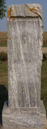 RICHARDSON, JOHN F - Lake County, South Dakota | JOHN F RICHARDSON - South Dakota Gravestone Photos