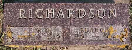 RICHARDSON, LYLE G - Lake County, South Dakota | LYLE G RICHARDSON - South Dakota Gravestone Photos