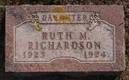 RICHARDSON, RUTH M - Lake County, South Dakota | RUTH M RICHARDSON - South Dakota Gravestone Photos