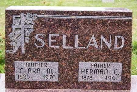 SELLAND, CLARA M - Lake County, South Dakota | CLARA M SELLAND - South Dakota Gravestone Photos