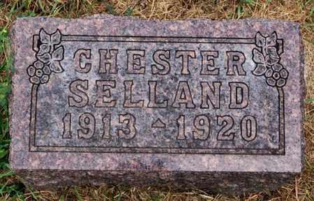 SELLAND, CHESTER - Lake County, South Dakota | CHESTER SELLAND - South Dakota Gravestone Photos