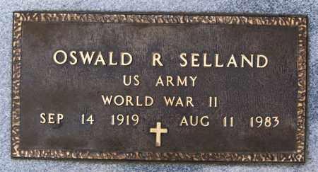 SELLAND, OSWALD R (WWII) - Lake County, South Dakota | OSWALD R (WWII) SELLAND - South Dakota Gravestone Photos