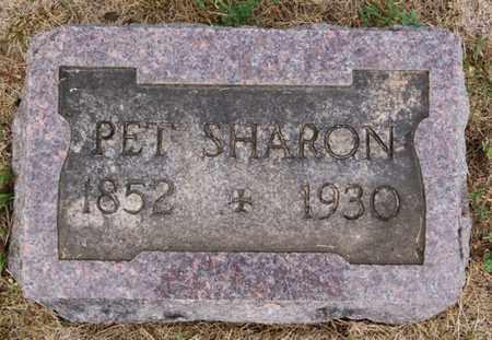 SHARON, PET - Lake County, South Dakota | PET SHARON - South Dakota Gravestone Photos