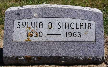 SINCLAIR, SYLVIA O - Lake County, South Dakota | SYLVIA O SINCLAIR - South Dakota Gravestone Photos