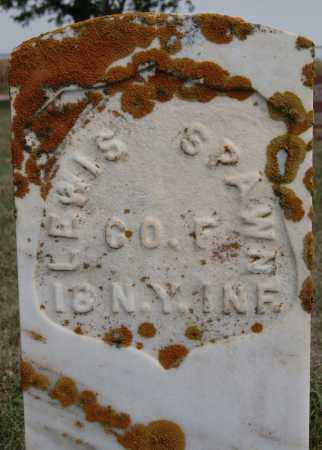 SPAWN, LEWIS (MILITARY) - Lake County, South Dakota   LEWIS (MILITARY) SPAWN - South Dakota Gravestone Photos