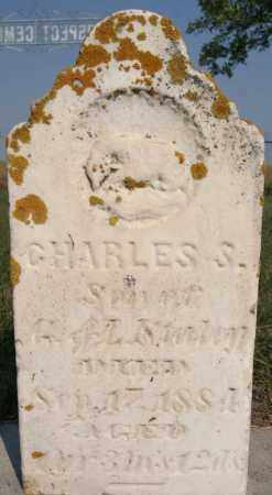 STALEY, CHARLES S - Lake County, South Dakota | CHARLES S STALEY - South Dakota Gravestone Photos
