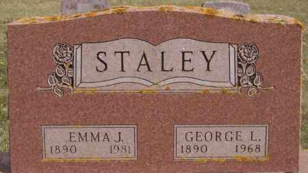 STALEY, EMMA J - Lake County, South Dakota | EMMA J STALEY - South Dakota Gravestone Photos
