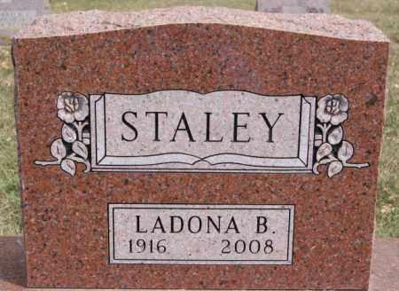 STALEY, LADONA B - Lake County, South Dakota | LADONA B STALEY - South Dakota Gravestone Photos