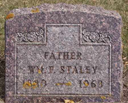 STALEY, WM F - Lake County, South Dakota | WM F STALEY - South Dakota Gravestone Photos