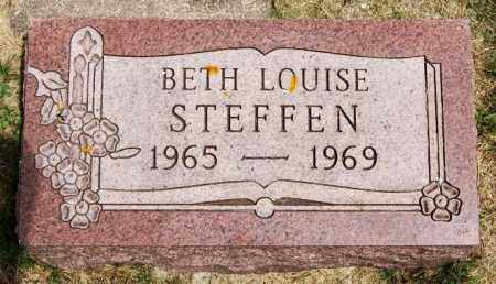 STEFFEN, BETH LOUISE - Lake County, South Dakota | BETH LOUISE STEFFEN - South Dakota Gravestone Photos