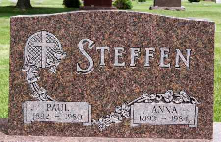 STEFFEN, ANNA - Lake County, South Dakota | ANNA STEFFEN - South Dakota Gravestone Photos
