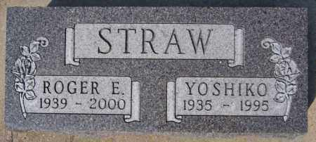 STRAW, YOSHIKO - Lake County, South Dakota | YOSHIKO STRAW - South Dakota Gravestone Photos