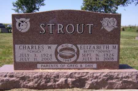 """STROUT, CHARLES W """"CHUCK"""" - Lake County, South Dakota 