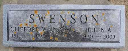 SWENSON, HELEN A - Lake County, South Dakota | HELEN A SWENSON - South Dakota Gravestone Photos