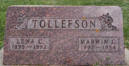 TOLLEFSON, LENA C - Lake County, South Dakota | LENA C TOLLEFSON - South Dakota Gravestone Photos