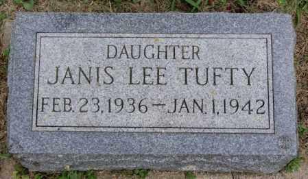 TUFTY, JANIS LEE - Lake County, South Dakota | JANIS LEE TUFTY - South Dakota Gravestone Photos
