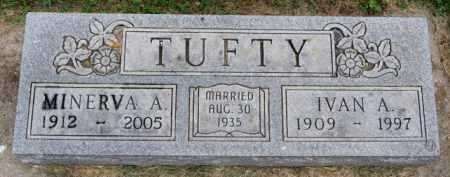 TUFTY, IVAN A - Lake County, South Dakota   IVAN A TUFTY - South Dakota Gravestone Photos