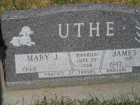 UTHE, MARY J. - Lake County, South Dakota | MARY J. UTHE - South Dakota Gravestone Photos