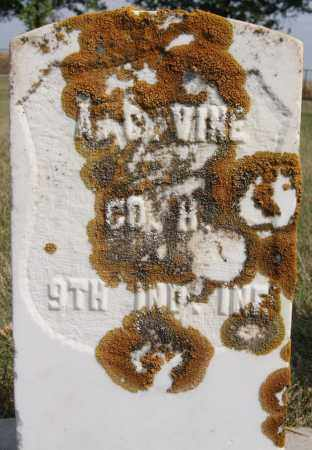 VINE, ABRAM C (MILITARY) - Lake County, South Dakota   ABRAM C (MILITARY) VINE - South Dakota Gravestone Photos