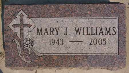 WILLIAMS, MARY J - Lake County, South Dakota | MARY J WILLIAMS - South Dakota Gravestone Photos