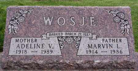 WOSJE, MARVIN L - Lake County, South Dakota | MARVIN L WOSJE - South Dakota Gravestone Photos