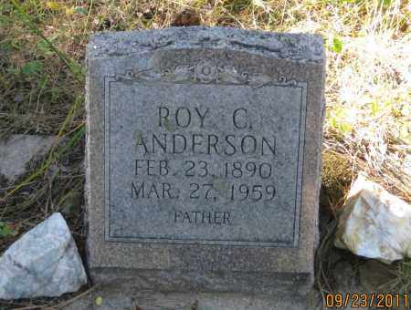 ANDERSON, ROY  C. - Lawrence County, South Dakota | ROY  C. ANDERSON - South Dakota Gravestone Photos